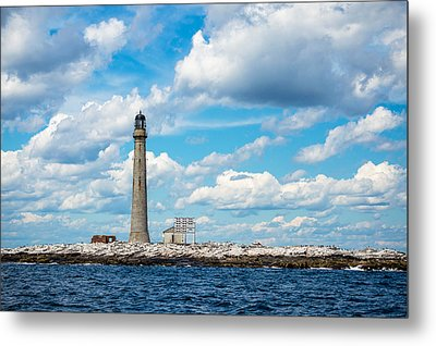Boon Island Light Station Metal Print