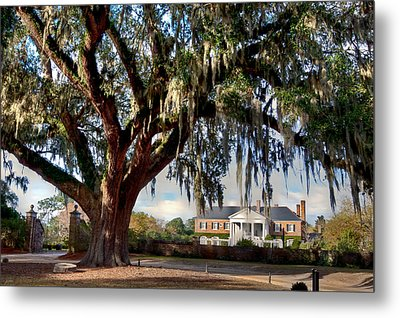 Boone Hall Mansion Metal Print