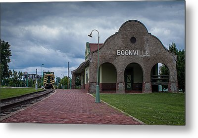Metal Print featuring the photograph Boonville Depot by Wayne Meyer