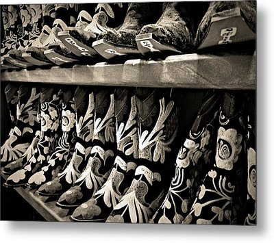Boot Camp Metal Print by Mark David Gerson