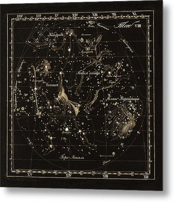 Bootes Constellations, 1829 Metal Print by Science Photo Library