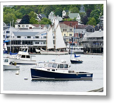 Boothbay Harbor Metal Print