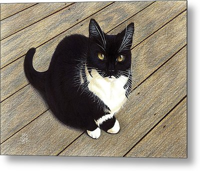 Boots Metal Print by Danielle R T Haney