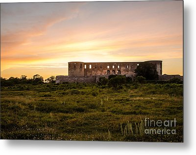 Borgholm Castle In Sweden Metal Print