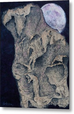 Born Of The Moon Metal Print by Carla Woody