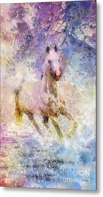 Born To Be Wild Metal Print by Mo T