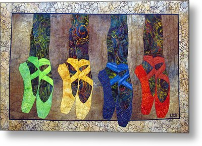 Born To Dance Metal Print by Lynda K Boardman