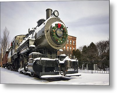 Boston And Maine Locomotive Metal Print by Eric Gendron