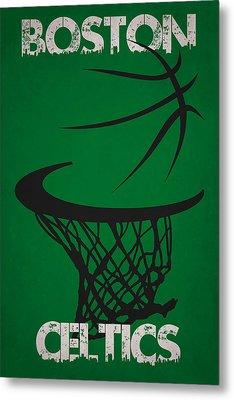 Boston Celtics Hoop Metal Print