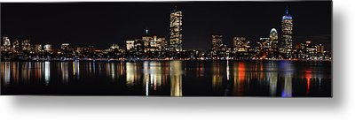 Boston Charles River Panorama Metal Print by Toby McGuire