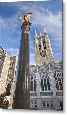 Boston College Gasson Hall Metal Print by Replay Photos