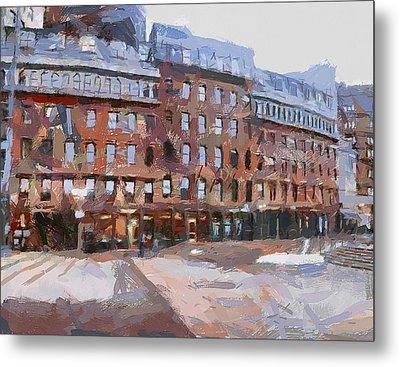 Boston Downtown 2 Metal Print
