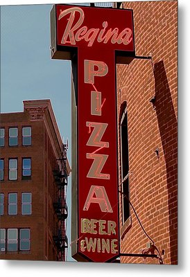 Boston Institution Metal Print