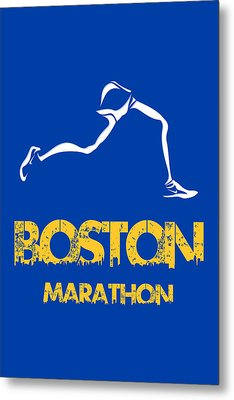 Boston Marathon2 Metal Print