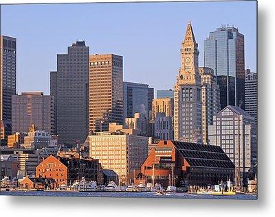 Boston Marriott Long Wharf Metal Print
