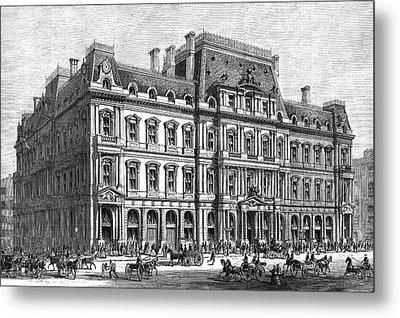 Boston Post Office, 1870 Metal Print by Granger