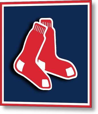 Boston Red Socks Metal Print by Tony Rubino