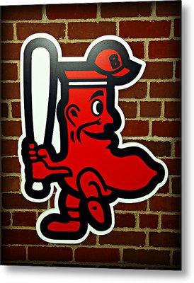 Boston Red Sox 1950s Logo Metal Print