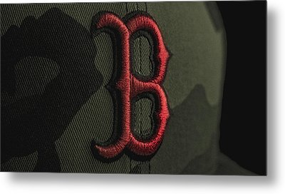 Boston Red Sox Metal Print by David Haskett