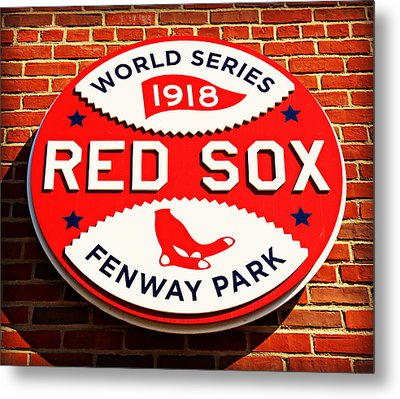 Boston Red Sox World Series Champions 1918 Metal Print by Stephen Stookey