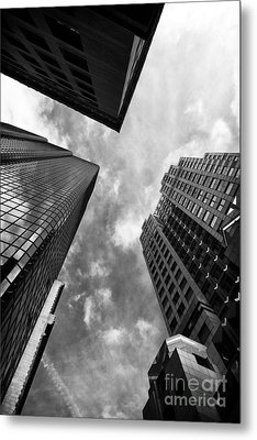 Boston Rising Metal Print by John Rizzuto