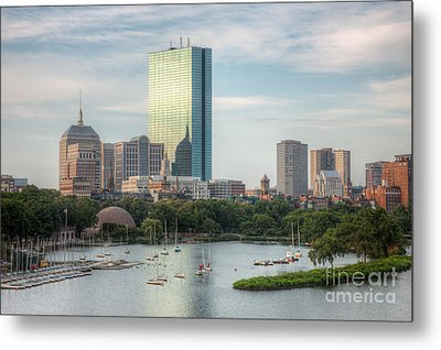 Boston Skyline I Metal Print by Clarence Holmes