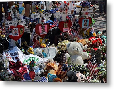 Boston Strong 2 Metal Print