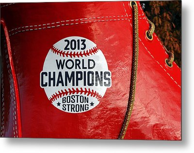 Boston Strong 2013 World Champions Metal Print by Juergen Roth