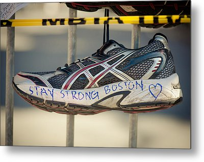 Boston Strong Metal Print by Andrew Kubica