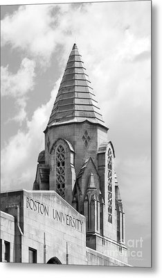 Boston University Tower Metal Print