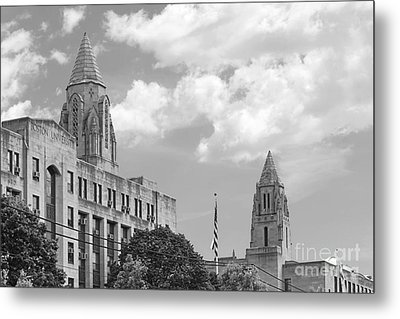 Boston University Towers Metal Print by University Icons