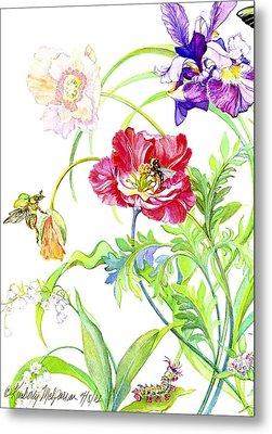 Botanical Print Metal Print