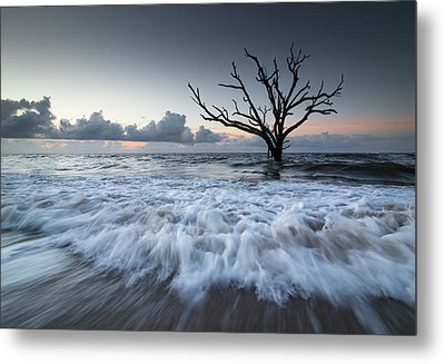 Botany Bay Power Metal Print by Serge Skiba