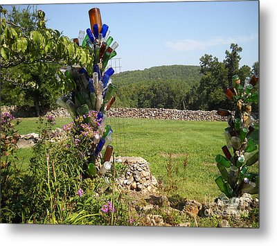 Metal Print featuring the photograph Bottle Bushes by Mark McReynolds