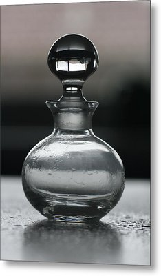 Bottle Metal Print