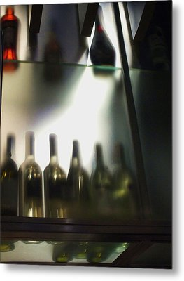 Bottles II Metal Print by Anna Villarreal Garbis