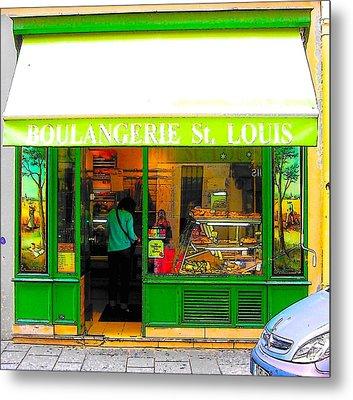Boulangerie St Louis Metal Print by Jan Matson