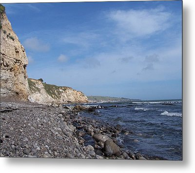 Metal Print featuring the photograph Boulder Beach by Christine Drake
