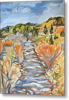 Boulder Creek Nederland Co Metal Print by Al Hart