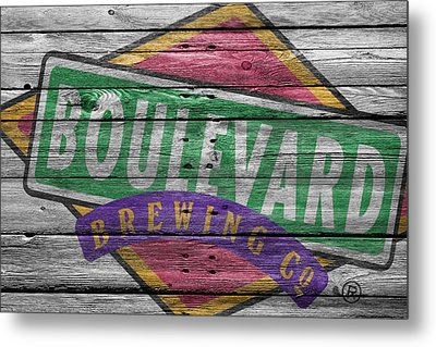 Boulevard Brewing Metal Print by Joe Hamilton