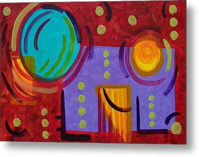 Bounce Metal Print by Betsy Moran
