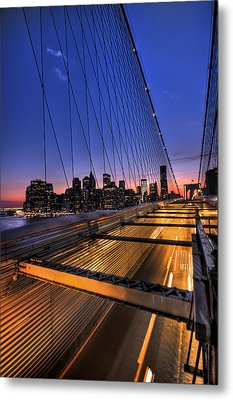 Bound For Greatness Metal Print by Evelina Kremsdorf
