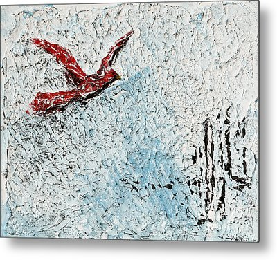 Bound To Fly Metal Print by Alys Caviness-Gober