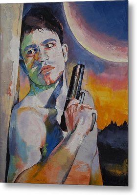Bounty Hunter Metal Print by Michael Creese