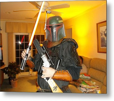 Bounty Hunter Through All Times Metal Print