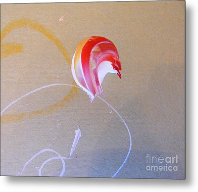 Metal Print featuring the painting Bouquet 4 by Nancy Kane Chapman