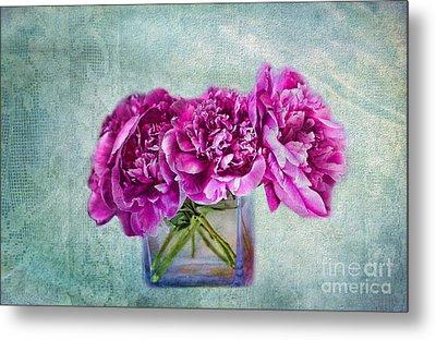 Bouquet Of Beauty Metal Print by Andrea Kollo