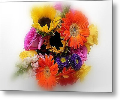 Bouquet Of Color Metal Print