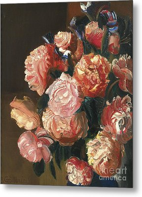 Bouquet Of Flowers Metal Print by Celestial Images