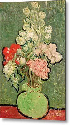 Bouquet Of Flowers Metal Print by Vincent van Gogh